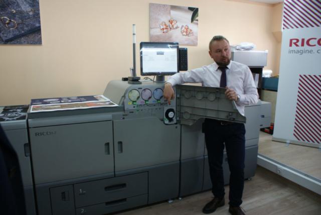 новая печатной ЦПМ Ricoh Pro C7200x